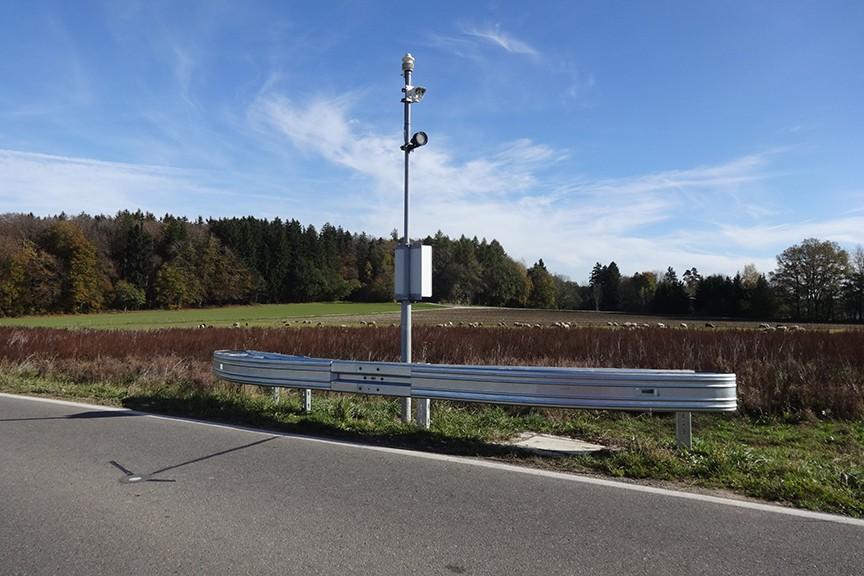 Meteorologische Überwachung der Straßenverhältnisse